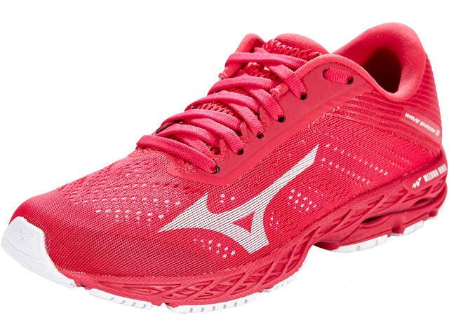 Mizuno Wave Shadow 3 Chaussures de running Femme, rose red/white